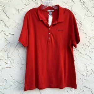 Port Authority Tesla Apparel Red Shirt Size XL